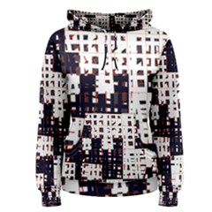 Abstract city landscape Women s Pullover Hoodie