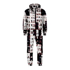 Abstract city landscape Hooded Jumpsuit (Kids)
