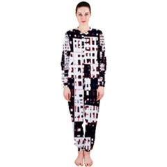 Abstract City Landscape Onepiece Jumpsuit (ladies)