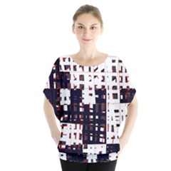 Abstract city landscape Blouse