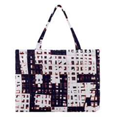 Abstract city landscape Medium Tote Bag