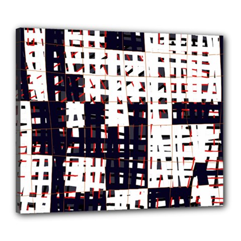 Abstract city landscape Canvas 24  x 20