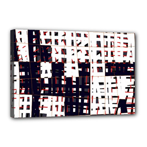 Abstract city landscape Canvas 18  x 12