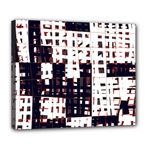 Abstract city landscape Deluxe Canvas 24  x 20