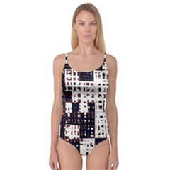 Abstract city landscape Camisole Leotard