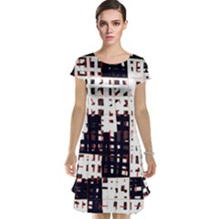 Abstract city landscape Cap Sleeve Nightdress