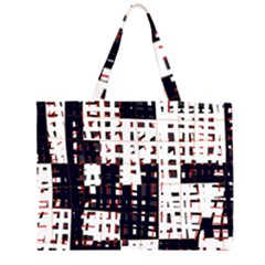Abstract city landscape Large Tote Bag