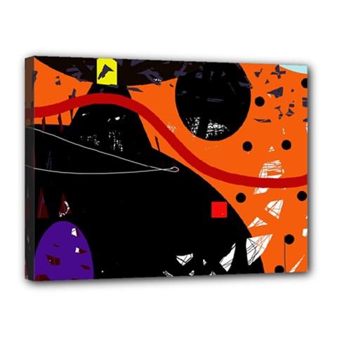 Orange dream Canvas 16  x 12