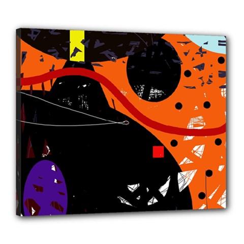 Orange dream Canvas 24  x 20