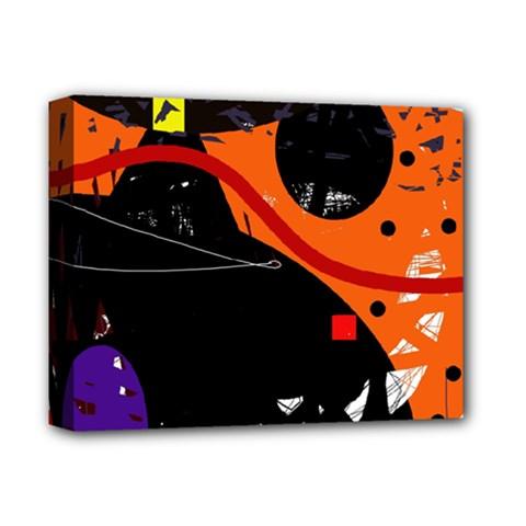 Orange dream Deluxe Canvas 14  x 11