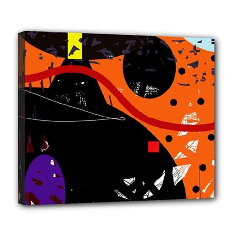 Orange dream Deluxe Canvas 24  x 20