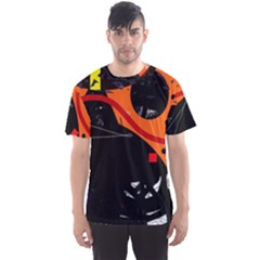 Orange dream Men s Sport Mesh Tee