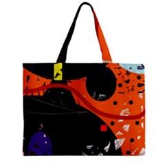 Orange dream Zipper Mini Tote Bag