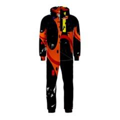 Orange dream Hooded Jumpsuit (Kids)