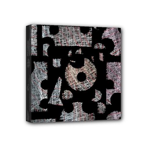 Elegant puzzle Mini Canvas 4  x 4