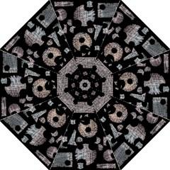 Elegant puzzle Hook Handle Umbrellas (Medium)