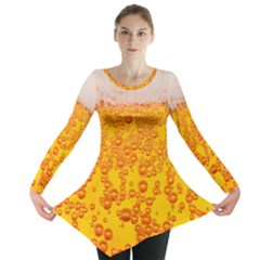 Beer Alcohol Drink Drinks Long Sleeve Tunic