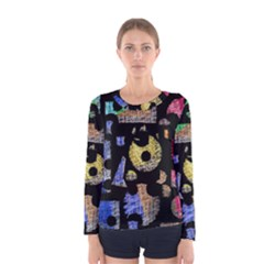 Colorful puzzle Women s Long Sleeve Tee