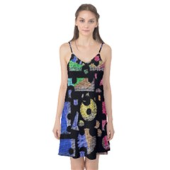 Colorful puzzle Camis Nightgown