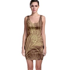 Beautiful Patterns Vector Sleeveless Bodycon Dress