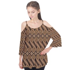 Batik The Traditional Fabric Flutter Tees