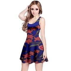 Batik Fabric Reversible Sleeveless Dress