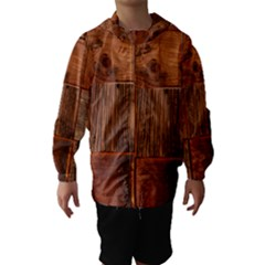 Barnwood Unfinished Hooded Wind Breaker (Kids)