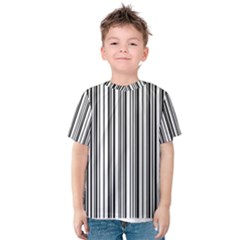 Barcode Pattern Kids  Cotton Tee