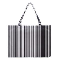 Barcode Pattern Medium Tote Bag
