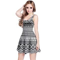 Aztec Pattern Design  Reversible Sleeveless Dress