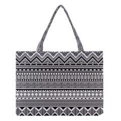 Aztec Pattern Design  Medium Tote Bag