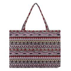 Aztec Pattern Art Medium Tote Bag