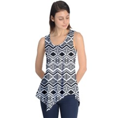 Aztec Design  Pattern Sleeveless Tunic