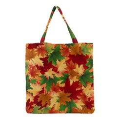 Autumn Leaves Grocery Tote Bag