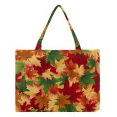 Autumn Leaves Medium Tote Bag
