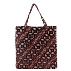 Art Traditional Batik Pattern Grocery Tote Bag