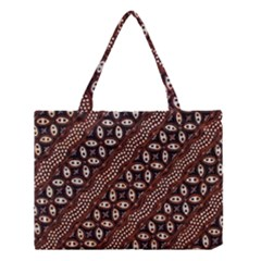 Art Traditional Batik Pattern Medium Tote Bag