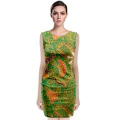Art Batik The Traditional Fabric Classic Sleeveless Midi Dress