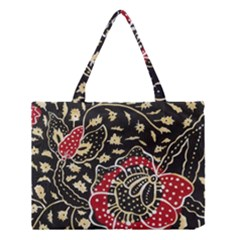 Art Batik Pattern Medium Tote Bag