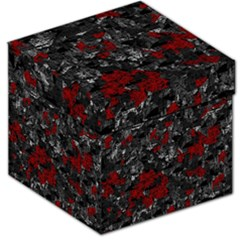 Gray and red decorative art Storage Stool 12