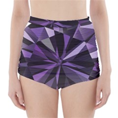 Amethyst High-Waisted Bikini Bottoms