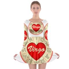 Astrology Junction Virgo Long Sleeve Skater Dress