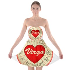 Astrology Junction Virgo Strapless Bra Top Dress