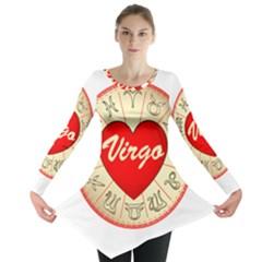 Astrology Junction Virgo Long Sleeve Tunic