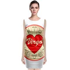 Astrology Junction Virgo Classic Sleeveless Midi Dress