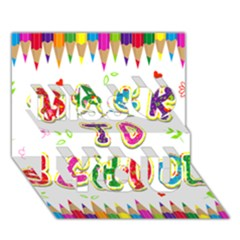 Back To School Miss You 3D Greeting Card (7x5)