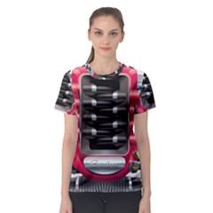 Car Engine Women s Sport Mesh Tee