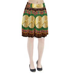 Casino Roulette Clipart Pleated Skirt