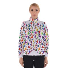 Chaotic Colorful Heart Fractal Winterwear