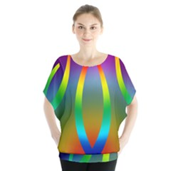 Colorful Easter Egg Blouse